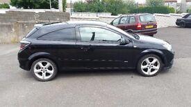 Diesel Vauxhall astra sri 1.7 cdti 2007 3 door in black with new mot