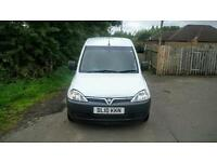 NO VAT. Vauxhall Combo 1.7 CDTI 16v, 2 Previous owners, 99,000 Miles, MOT 24/2/17,Worth Viewing.