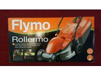 BRAND NEW Flymo Rollermo Corded Electric Rotary Lightweight Compact Lawnmover 1000W.