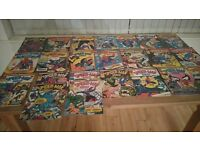 Marvel spider man comic books from the 1970s.there is 41 comics altogether and im lookingto sell alt