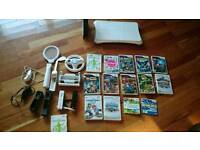Massive Wii Bundle Fit Board Sports Pack 12 Games Great Xmas Gift