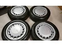 Volkswagen Golf Mk2 Bottletop alloy wheels