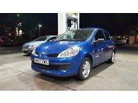 2007 RENAULT CLIO 1.2 3 DOOR HATCHBACK QUICKSALE