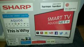 "Sharp 40"" HD led tv"