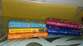 David Walliams 5 book collection