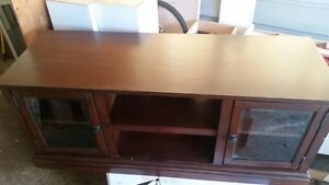 Solid Wood Entertainment Cabinet