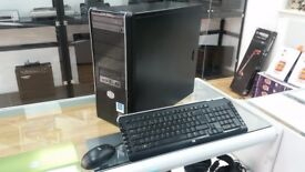 Desktop PC, 1 TB Storage, 3.01 Ghz, Windows 10, 1x HDMI