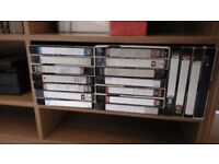 Load of VHS cassettes and Audio tapes