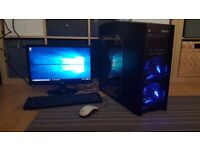 Quad Core Desktop Setup - Intel i5 3.2GHz, GT 610 2GB, 4GB RAM, 750GB HDD