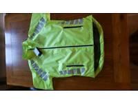 Hi Vis Cycle Jacket