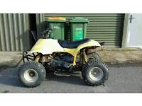 Quad bike 70cc auto suit 7 years +