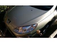 Peugeot 407 saloon se spare or repairs