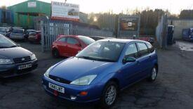 1999 (T reg) Ford Focus 2.0 i 16v Ghia 5dr Hatchback FOR £495 SOLD WITH 12 MONTHS MOT