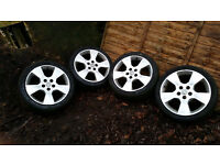 17in vauxhall alloy wheels 5 stud