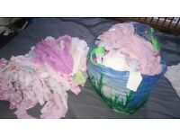 Big big bundle of baby clothes (girls)