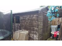 15ft x 6ft apex roof tongue and groove shed