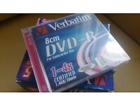 Verbatim 8cm DVD-R for Camera Slim Case Speed 4x Capacity 1.4GB [Pack of 5]