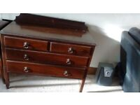 Chest of drawers Hard wood