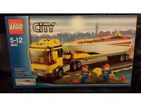 Lego 4643 Speed boat Transporter. 2011.retired. unused new