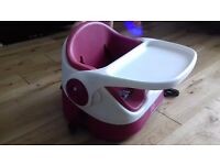 Pink mamas and papas baby bud booster seat