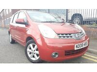 2008 Nissan Note 1.4 16v Acenta 5dr Hatchback, Warranty & Breakdown Available, £1,895 p/x welcome