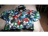 Billabong Men's ski jacket, Size Large, Multicoloured, good condition