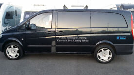 Mercedes Vito 109 cdi, ready to go with every thing you need to valet or window cleaning.