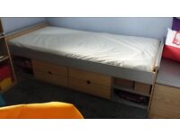 Cabin bed and mattress