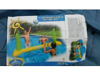 Intex 15ft pool accessories spares (over pool volleyball game )