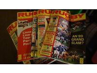 Rugby world and post magazines in excellent condition