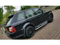 Land Rover Range Rover Sports 2008 Diesel Automatic HPI Clear warranty Mileage 127k