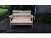 Garden Bench and matching table for sale