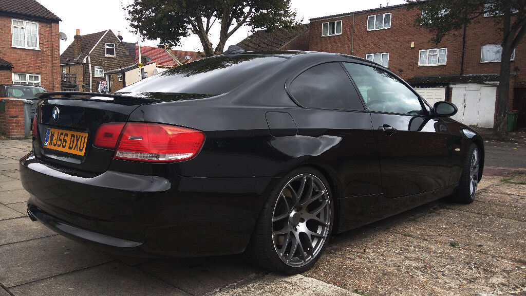 bmw e92 330i black coupe new engine auto with cream leather in redbridge london gumtree. Black Bedroom Furniture Sets. Home Design Ideas