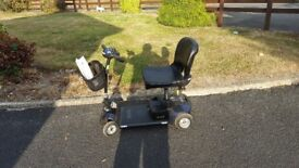 Mobility scooter gogo elite travler 0-4 mph fits in car boot