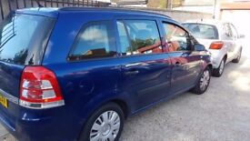 Vauxhall Zafira Family car is in Excellent condition
