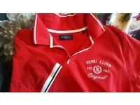 Men's Henri Lloyd Red polo shirt XL