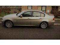 BMW 318D SE in Gold with 106k on the clock and 8 months MOT.