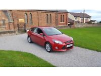 12 REG FORD FOCUS 1.0 TURBO TITANIUM 5DR MOT-18 NEW-SHAPE OUTSTANDING FREE-DELIVERY CHEAP CAR L@@K