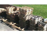 FREE TO COLLECT. BURY BL9. APPROX 50 WOODEN PALLETS - VARIOUS SIZES