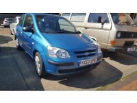 HYUNDAI GETZ IMMACULATE HIGHLY MAINTAINED FULL SERVICE HISTORY AND MOT NO ISSUES 1 OWNER DRIVES NEW