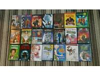 21 kids selection of dvds