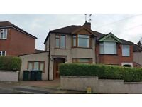 3 bed room semidetached house for rent, available for occupation ASAP. REcently decorated.