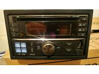 alpine cde-233r double din car stereo