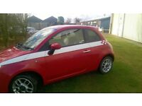 FIAT 500 1.2 SPORT 3 DOOR 1 careful lady owner from new