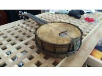 Old banjo ukukele