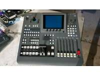 Panasonic mx70 4ch vision and audio mixer. Built iin tbc. I