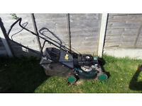 Qualcast Trojan petrol lawn mower