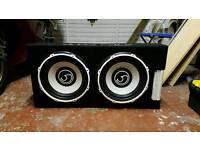 Twin 2600w sub and amp