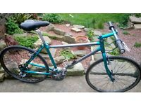 raleigh m-trax mountain bike with skinny wheels hybrid mtb