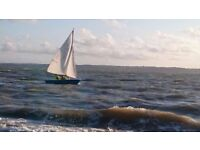Miracle Sailing Dinghy Sailboat number 1013